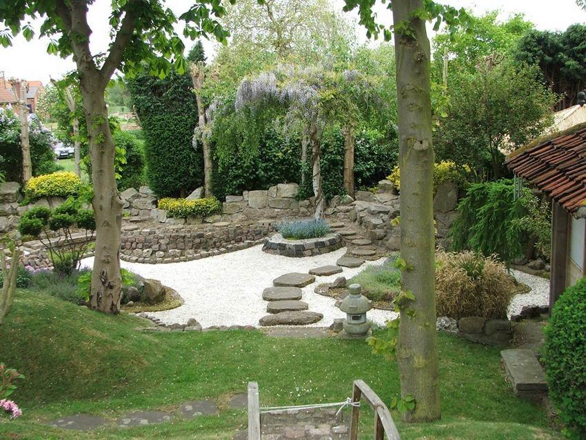 Японского сада своими руками